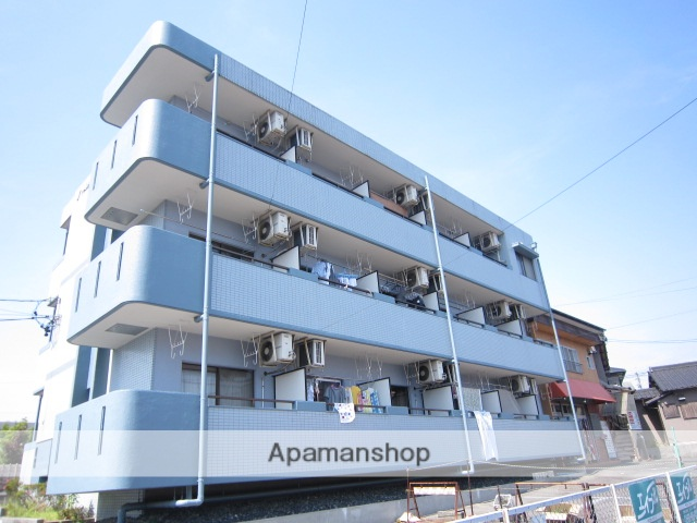 愛知県瀬戸市、水野駅徒歩8分の築25年 3階建の賃貸マンション