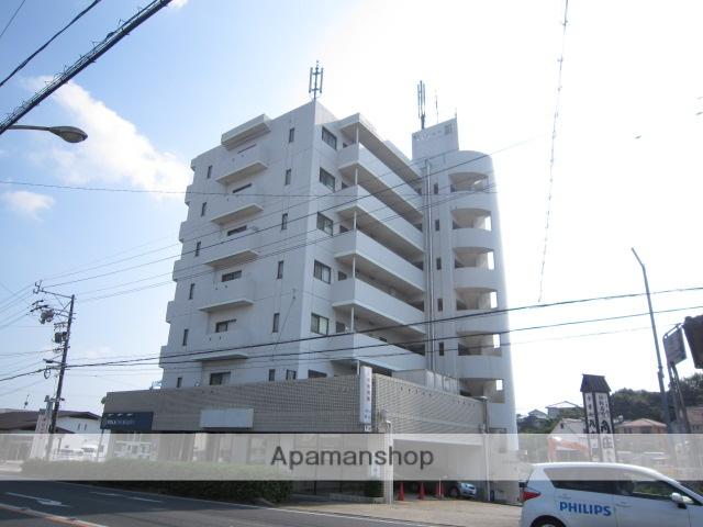 愛知県瀬戸市、新瀬戸駅徒歩9分の築27年 7階建の賃貸マンション