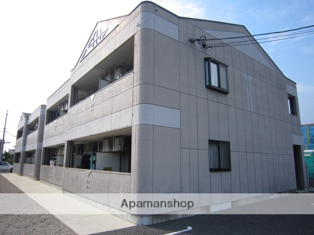 愛知県瀬戸市、山口駅徒歩21分の築13年 2階建の賃貸アパート