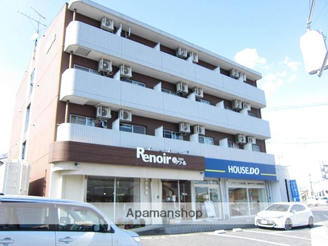 愛知県瀬戸市、新瀬戸駅徒歩3分の築25年 4階建の賃貸マンション