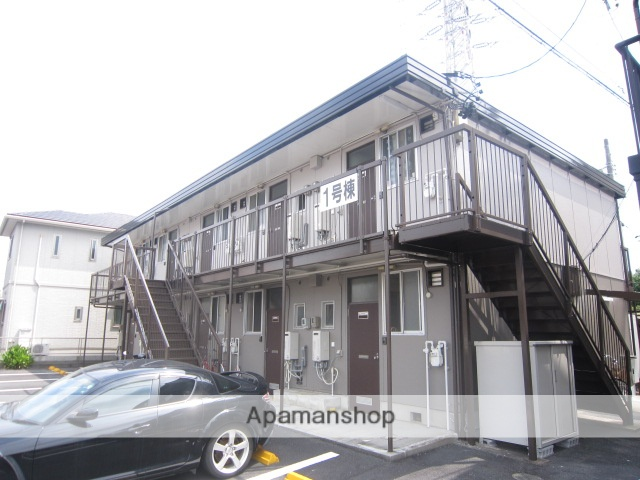 愛知県瀬戸市、新瀬戸駅徒歩16分の築38年 2階建の賃貸アパート