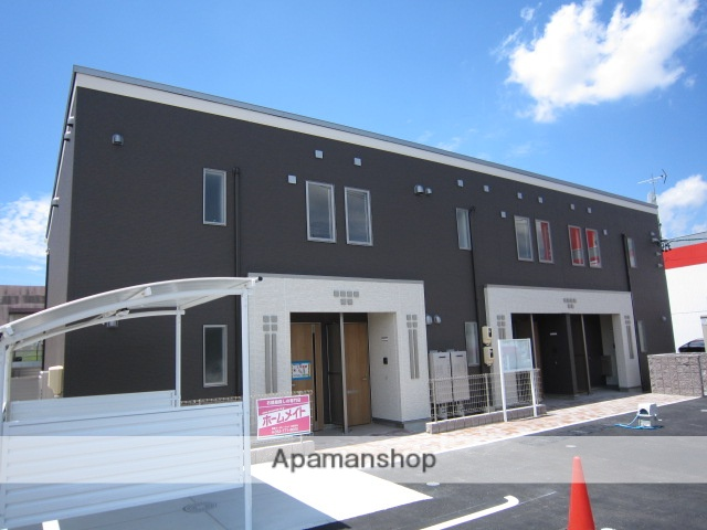 愛知県瀬戸市、新瀬戸駅徒歩25分の築2年 2階建の賃貸アパート