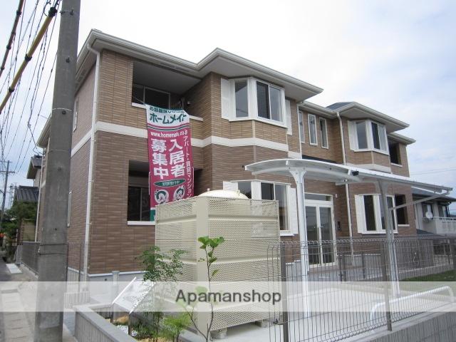愛知県瀬戸市、瀬戸口駅徒歩17分の築2年 2階建の賃貸アパート