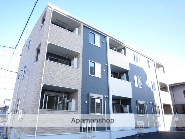 愛知県瀬戸市、三郷駅徒歩14分の築1年 3階建の賃貸アパート