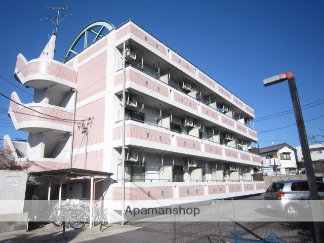 愛知県瀬戸市、山口駅徒歩10分の築20年 3階建の賃貸マンション
