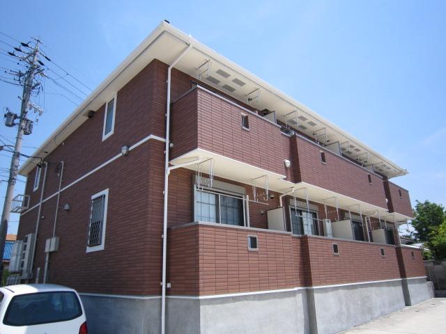愛知県瀬戸市、水野駅徒歩23分の築7年 2階建の賃貸アパート