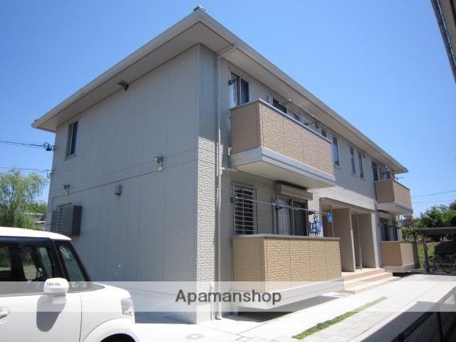 愛知県瀬戸市、山口駅徒歩22分の築7年 2階建の賃貸アパート