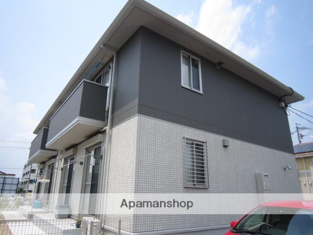 愛知県瀬戸市、山口駅徒歩4分の築5年 2階建の賃貸アパート