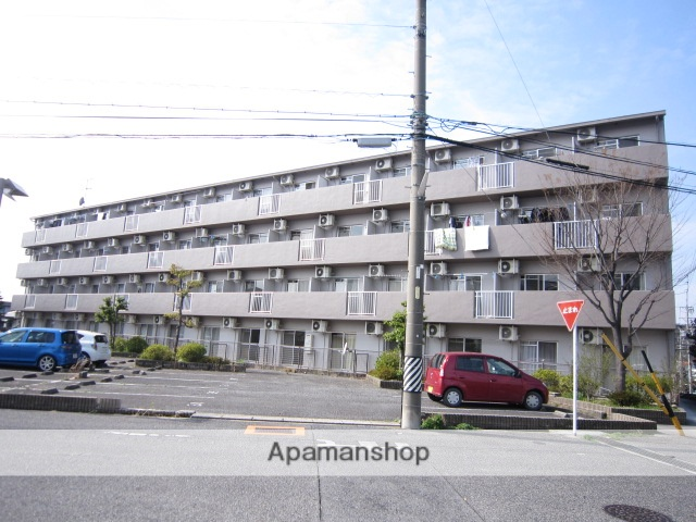 愛知県瀬戸市、瀬戸口駅徒歩6分の築24年 5階建の賃貸マンション