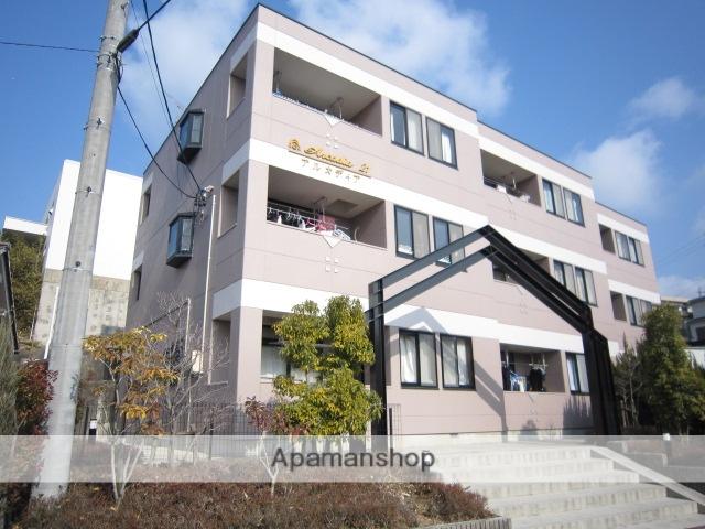愛知県瀬戸市、尾張瀬戸駅徒歩35分の築17年 3階建の賃貸アパート