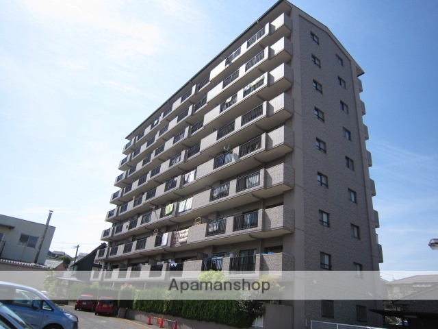 愛知県瀬戸市、水野駅徒歩8分の築26年 9階建の賃貸マンション