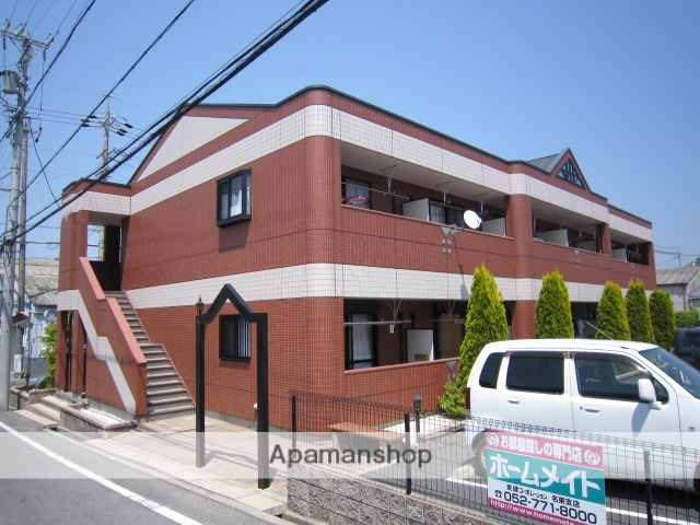 愛知県瀬戸市、瀬戸市役所前駅徒歩18分の築9年 2階建の賃貸アパート