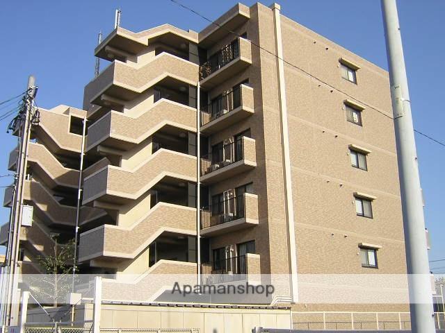 愛知県瀬戸市、新瀬戸駅徒歩8分の築23年 6階建の賃貸マンション