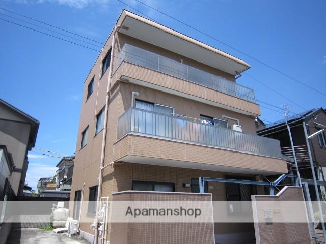 愛知県尾張旭市、旭前駅徒歩19分の築40年 3階建の賃貸アパート