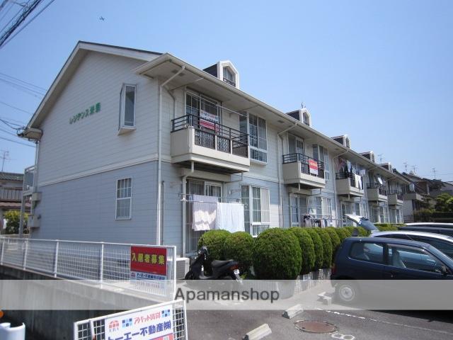 愛知県瀬戸市、山口駅徒歩19分の築24年 2階建の賃貸アパート