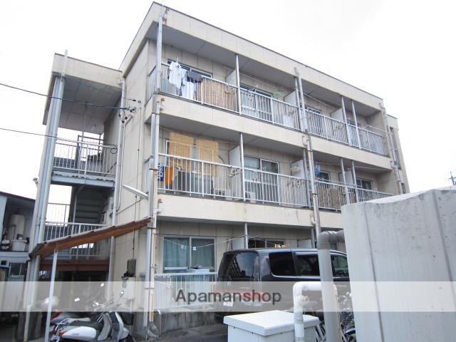 愛知県瀬戸市、瀬戸市役所前駅徒歩16分の築31年 3階建の賃貸アパート