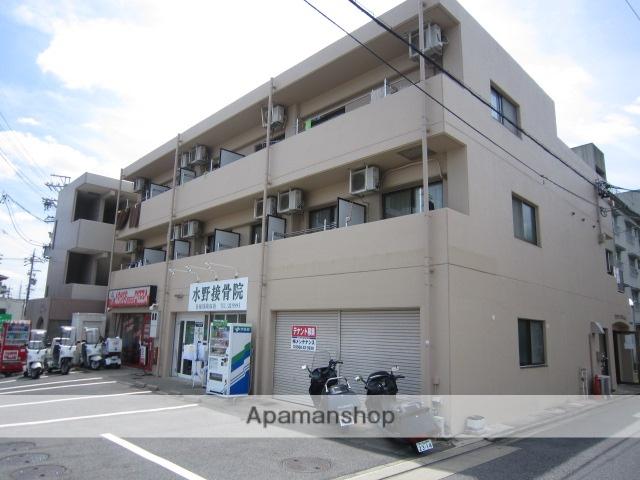 愛知県瀬戸市、水野駅徒歩2分の築20年 3階建の賃貸マンション