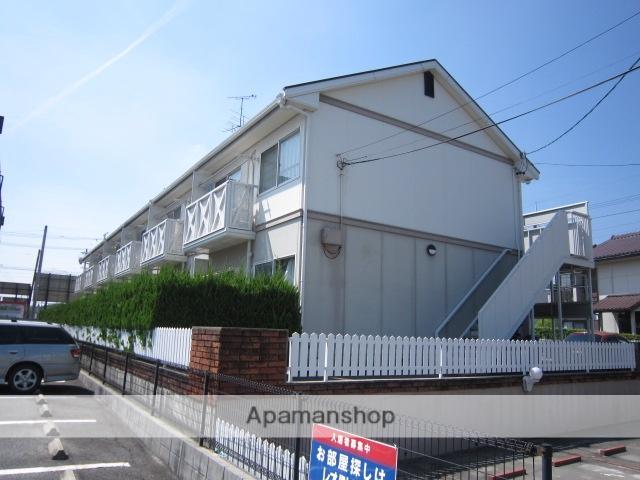 愛知県瀬戸市、山口駅徒歩16分の築23年 2階建の賃貸アパート