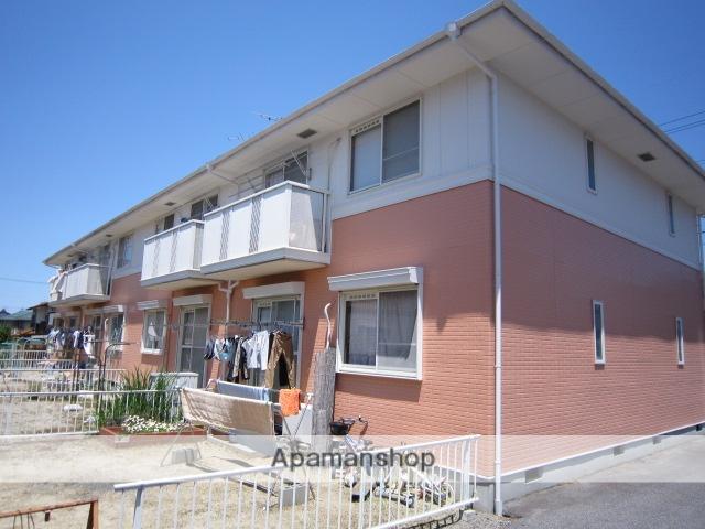 愛知県瀬戸市、瀬戸口駅徒歩5分の築23年 2階建の賃貸アパート