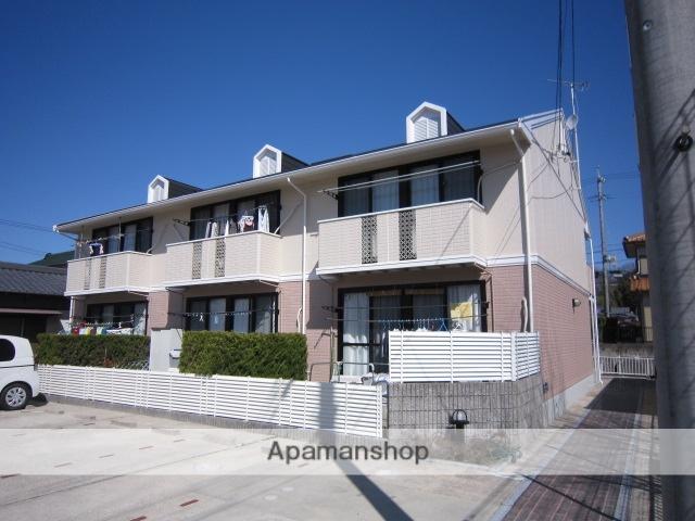 愛知県瀬戸市、山口駅徒歩4分の築23年 2階建の賃貸アパート