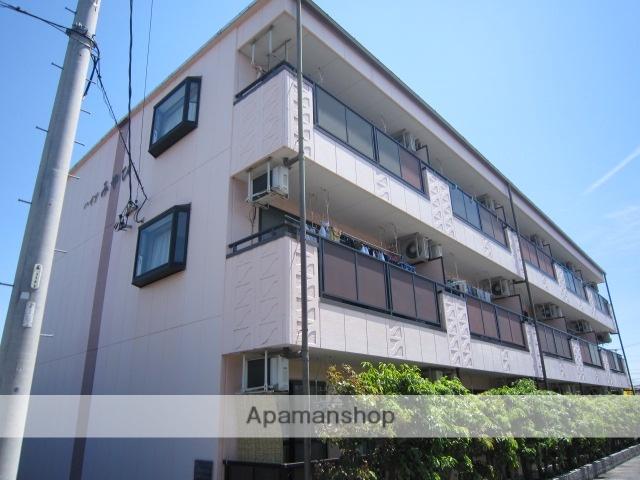 愛知県瀬戸市、新瀬戸駅徒歩35分の築21年 3階建の賃貸マンション
