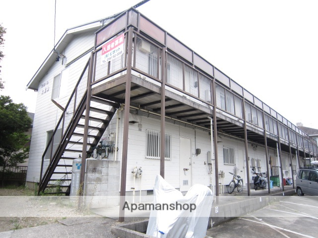 愛知県瀬戸市、新瀬戸駅徒歩15分の築24年 2階建の賃貸アパート