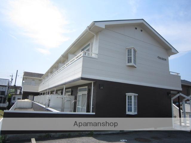 愛知県瀬戸市、山口駅徒歩1分の築23年 2階建の賃貸アパート