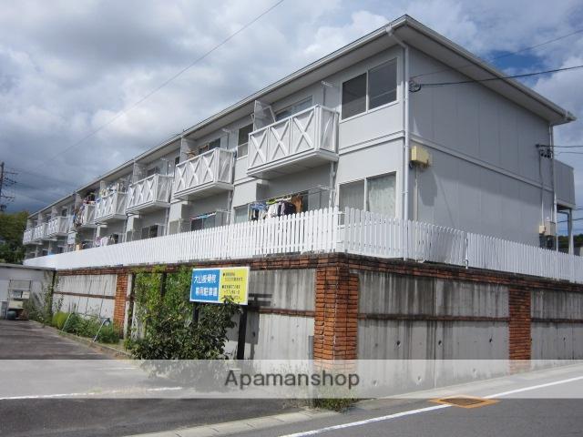 愛知県瀬戸市、山口駅徒歩3分の築24年 2階建の賃貸アパート