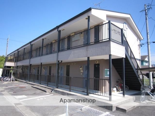 愛知県瀬戸市、山口駅徒歩9分の築17年 2階建の賃貸アパート