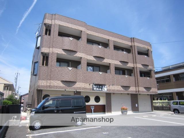 愛知県瀬戸市、山口駅徒歩2分の築18年 3階建の賃貸マンション