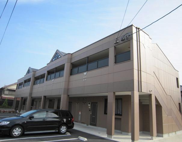 愛知県みよし市、赤池駅名鉄バスバス17分三好上下車後徒歩5分の築9年 2階建の賃貸アパート