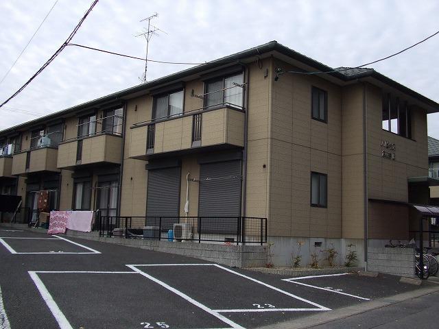 愛知県愛知郡東郷町、赤池駅バス17分御岳公園前下車後徒歩13分の築17年 2階建の賃貸アパート
