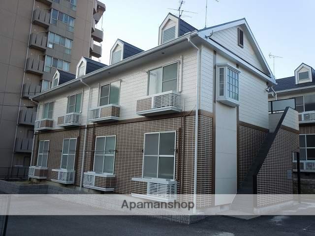 愛知県日進市、日進駅徒歩4分の築23年 2階建の賃貸アパート