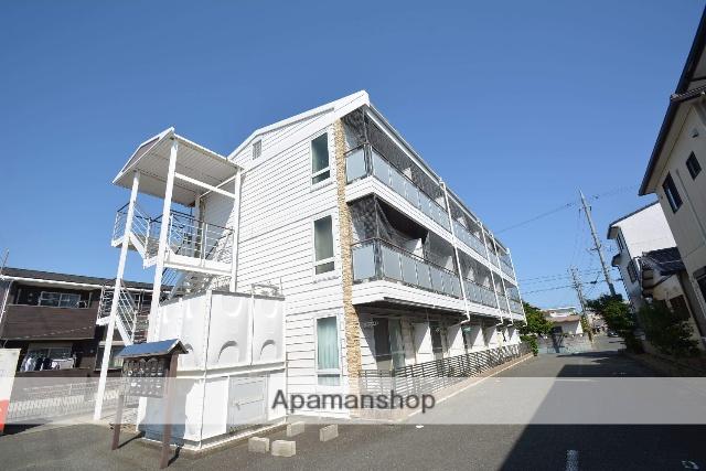 愛知県豊橋市、二川駅徒歩34分の築20年 3階建の賃貸アパート