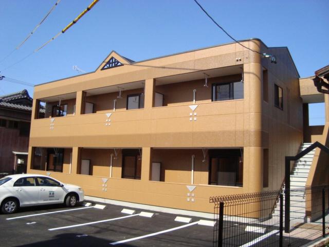 愛知県豊橋市の築6年 2階建の賃貸アパート