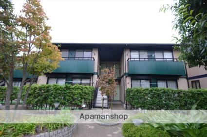 愛知県豊川市、豊川駅徒歩27分の築17年 2階建の賃貸アパート