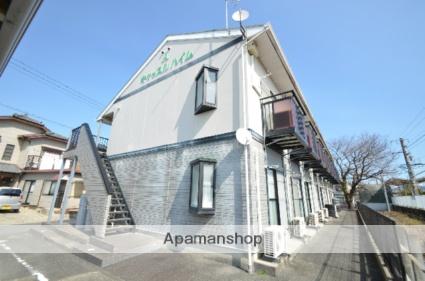 愛知県新城市、茶臼山駅徒歩1分の築22年 2階建の賃貸アパート