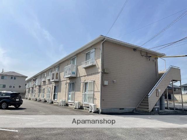 三重県四日市市、中川原駅徒歩15分の築23年 2階建の賃貸アパート