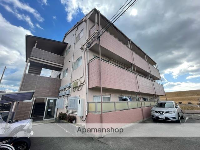 三重県四日市市、北楠駅徒歩17分の築24年 3階建の賃貸マンション