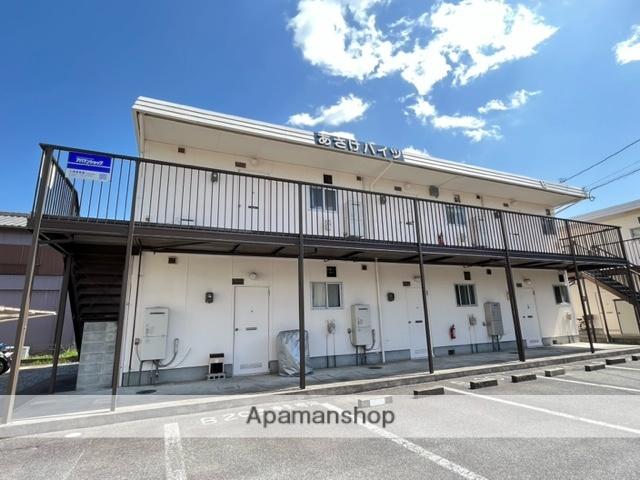 三重県四日市市、富田駅徒歩17分の築30年 2階建の賃貸アパート