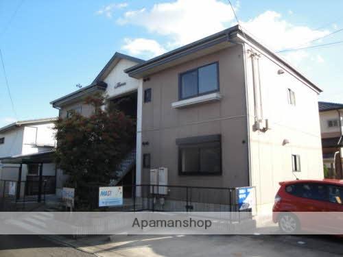 三重県四日市市、山城駅徒歩17分の築20年 2階建の賃貸アパート