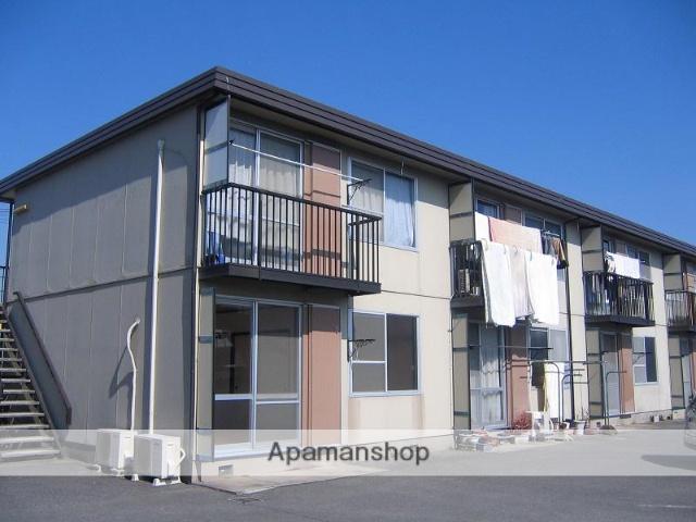 三重県四日市市、近鉄富田駅徒歩23分の築31年 2階建の賃貸アパート