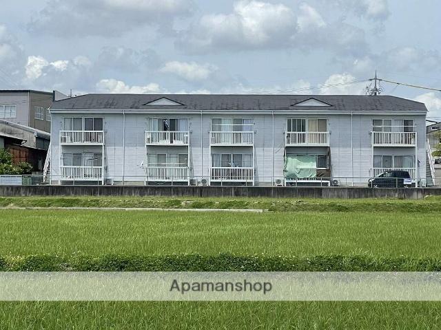 三重県四日市市、大矢知駅徒歩16分の築22年 2階建の賃貸アパート