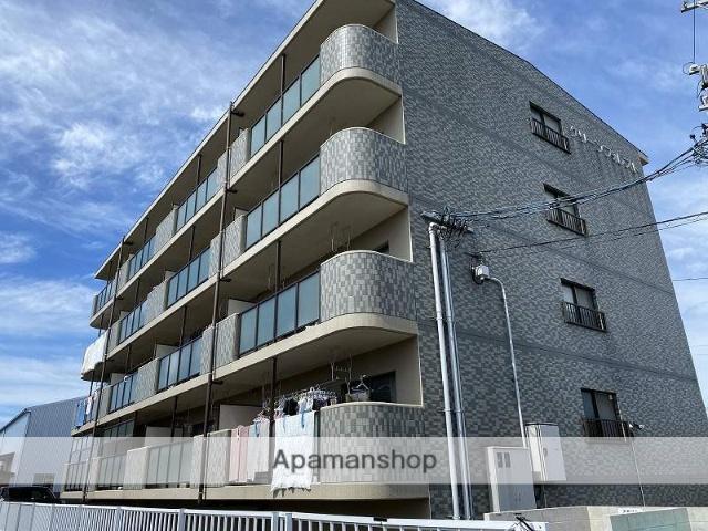 三重県桑名市、益生駅徒歩17分の築20年 4階建の賃貸マンション