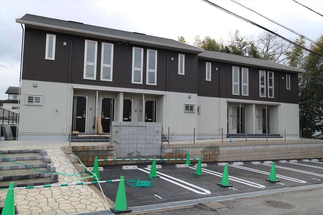 三重県名張市、桔梗が丘駅徒歩10分の新築 2階建の賃貸アパート