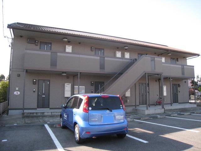 三重県津市、久居駅徒歩16分の築11年 2階建の賃貸アパート