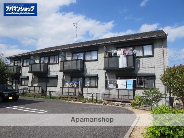 三重県津市、久居駅徒歩15分の築19年 2階建の賃貸アパート