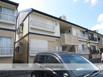 三重県津市、久居駅徒歩15分の築23年 2階建の賃貸アパート