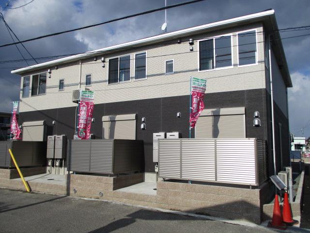 三重県津市、阿漕駅徒歩12分の新築 2階建の賃貸アパート