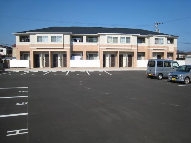 三重県津市、桃園駅徒歩7分の築4年 2階建の賃貸アパート